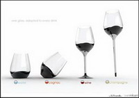 one glass for every drink. универсальный бокал от utopik design lab